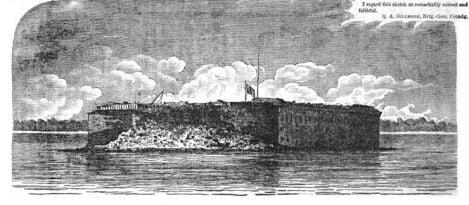 September 2, 1863 – Bombardment of Charleston