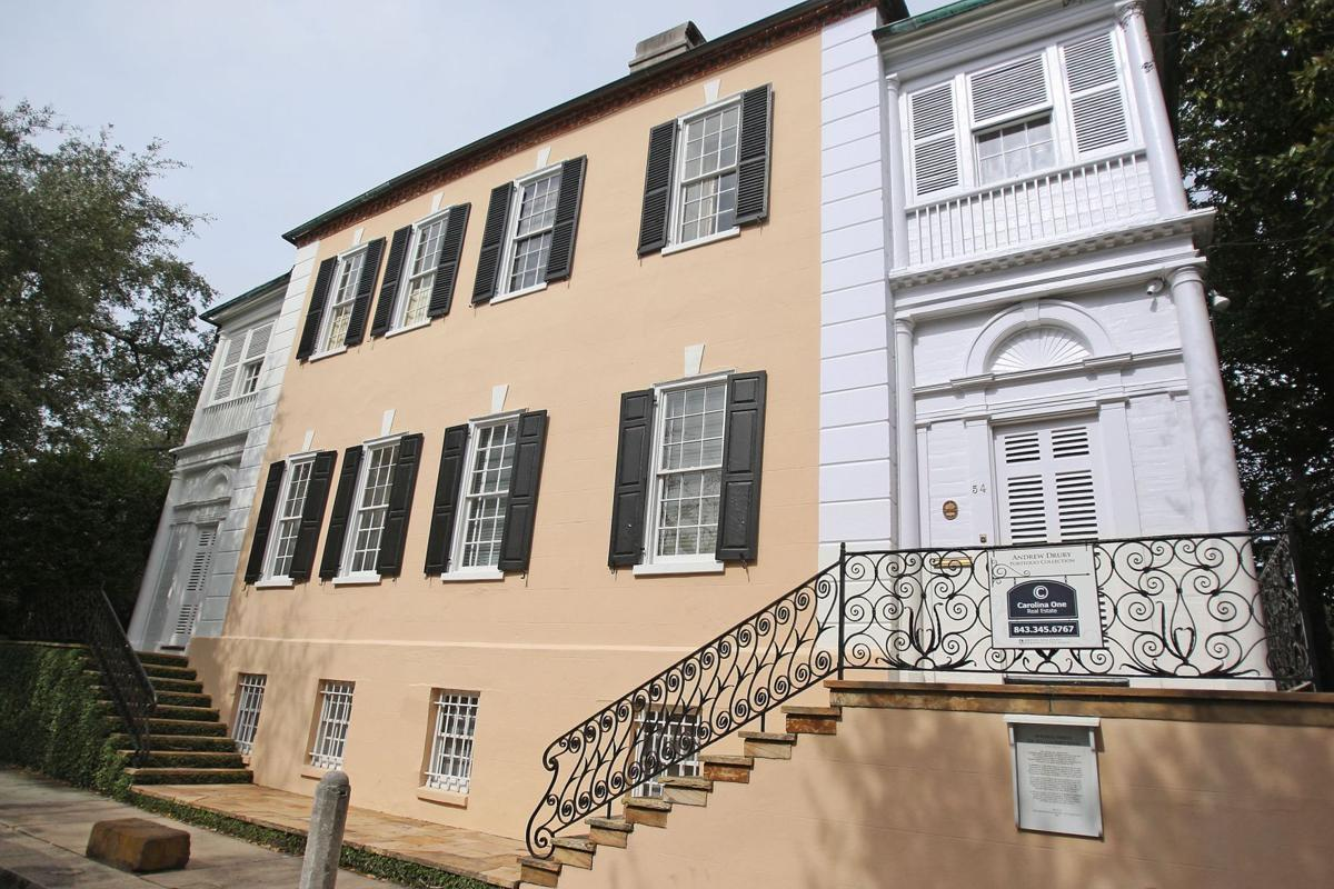 54 Hasell St. Elegant turn of 18th century Georgian house boasts outbuildings, expansive gardens, period fixtures