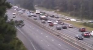 Major traffic arteries around Charleston clear for morning commute