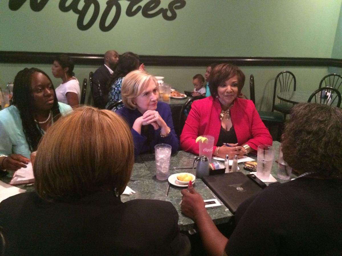 Clinton: Middle class to fight back Presidential hopeful visiting S.C. urges equal pay for women