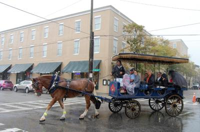 Horse carriage Doubletree