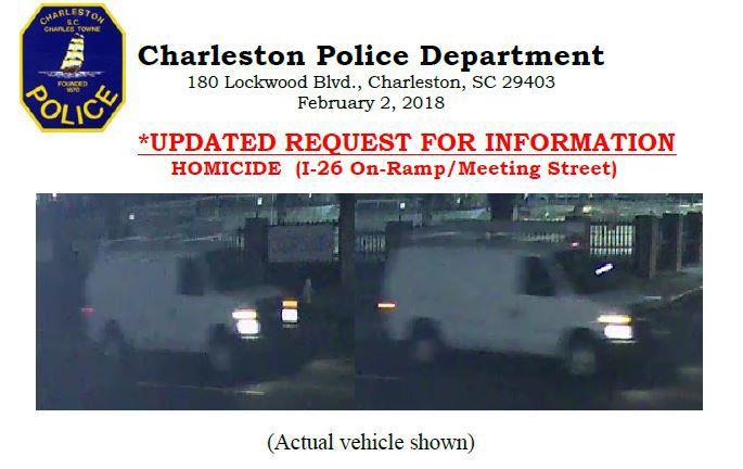 Charleston Police Department van