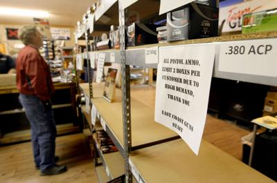 Gun shops run short of ammo Local buyers face limits, empty shelves Comcast pulling gun ads