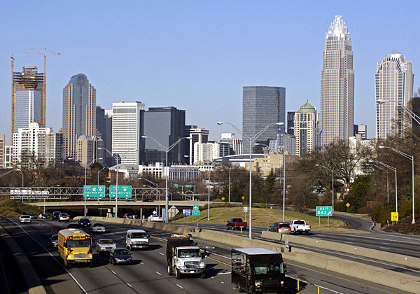 Dems look to South: Charlotte convention part of 2012 strategy