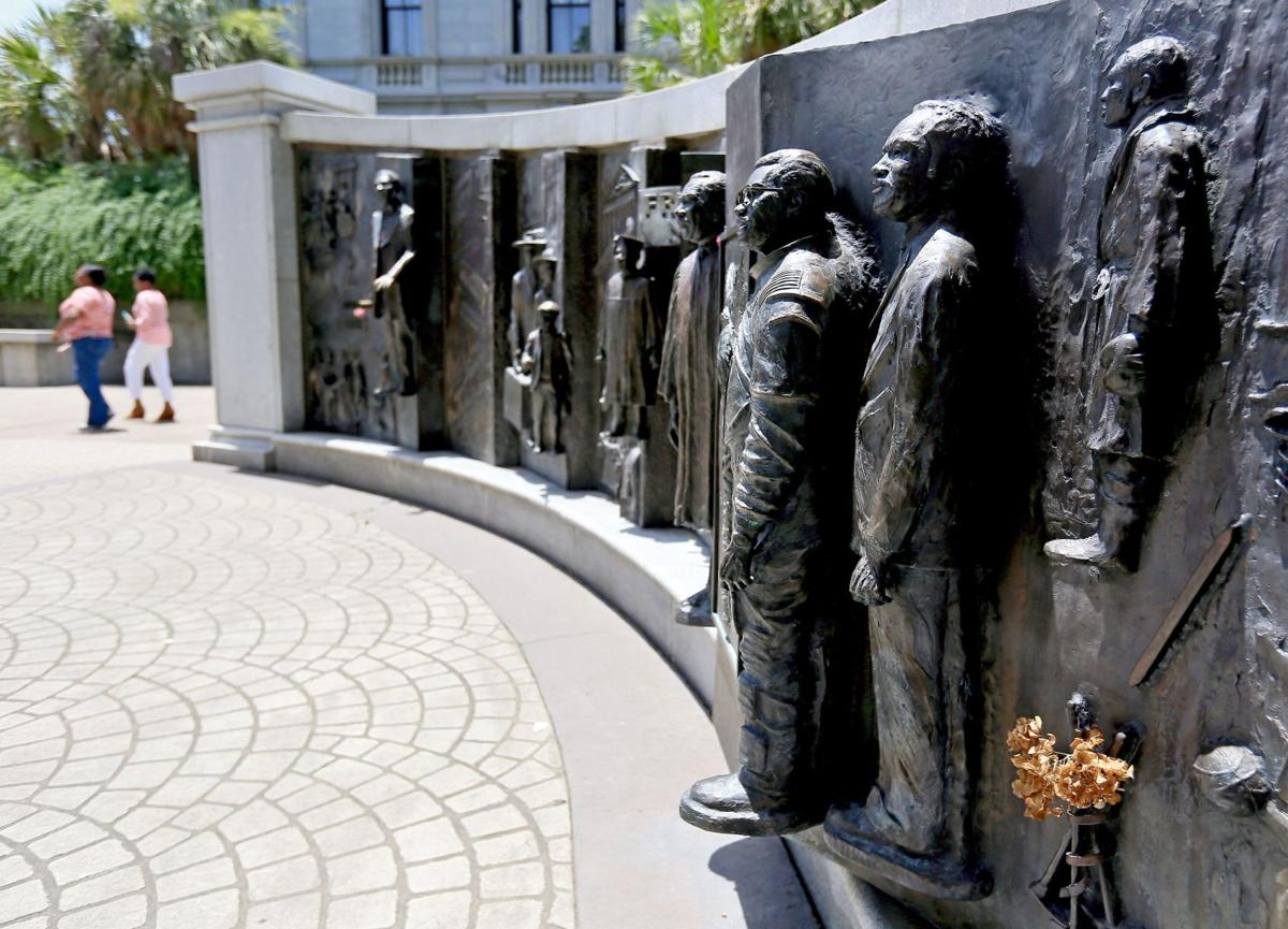 Capitol grounds also hold African-American History Monument