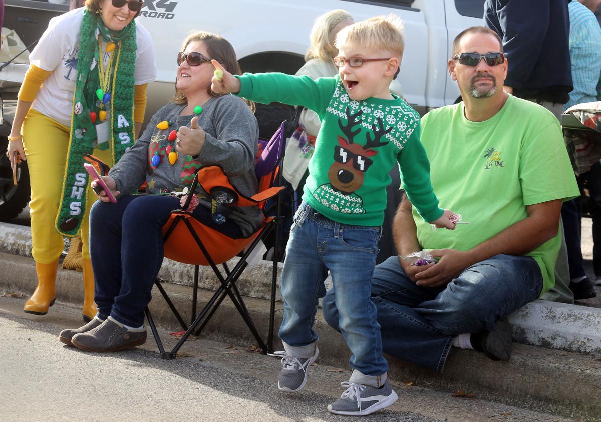 Orangeburg Christmas Parade 2020 Orangeburg family, struggling with child cancer, enjoys