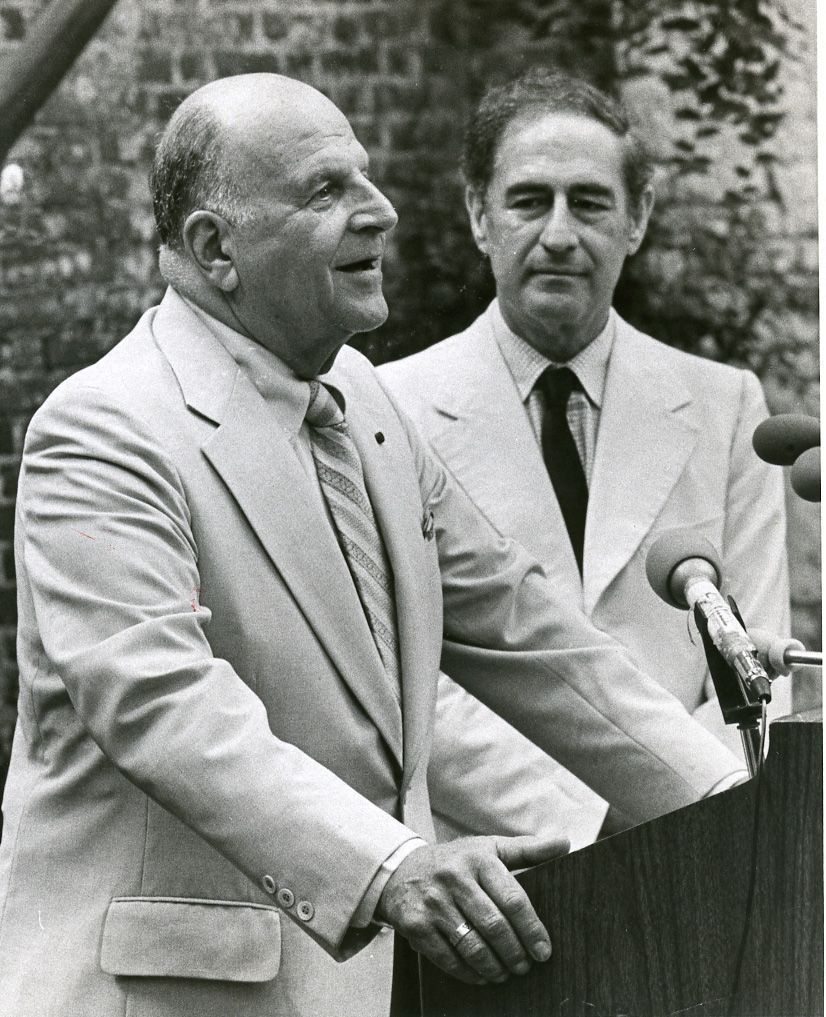 Ted Stern and Gian Carlo Menotti (copy)