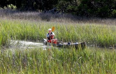 Trekking after Lawson; adventurer trails 1700 explorer's route from Lowcountry