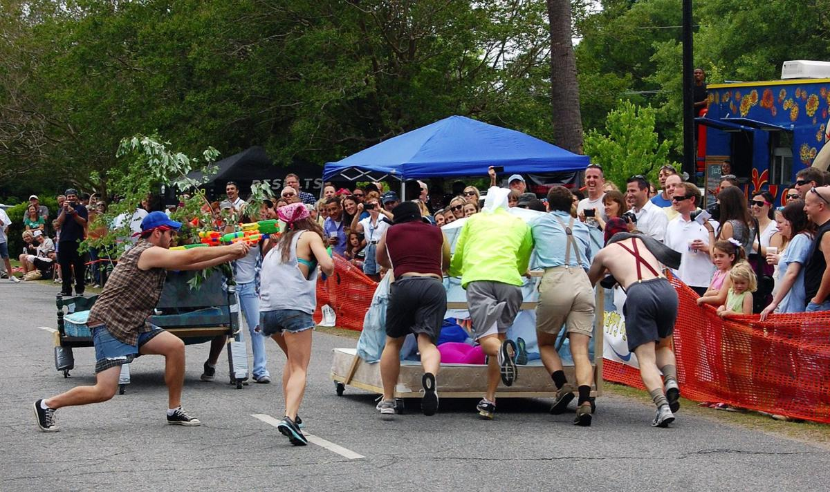 Not just for sleeping Fanciful bed race draws 1,000 for Camp Happy Days