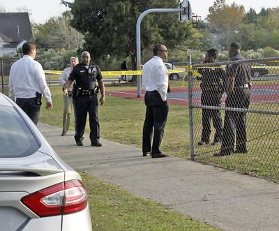 Man shot in park while kids at swim practice nearby