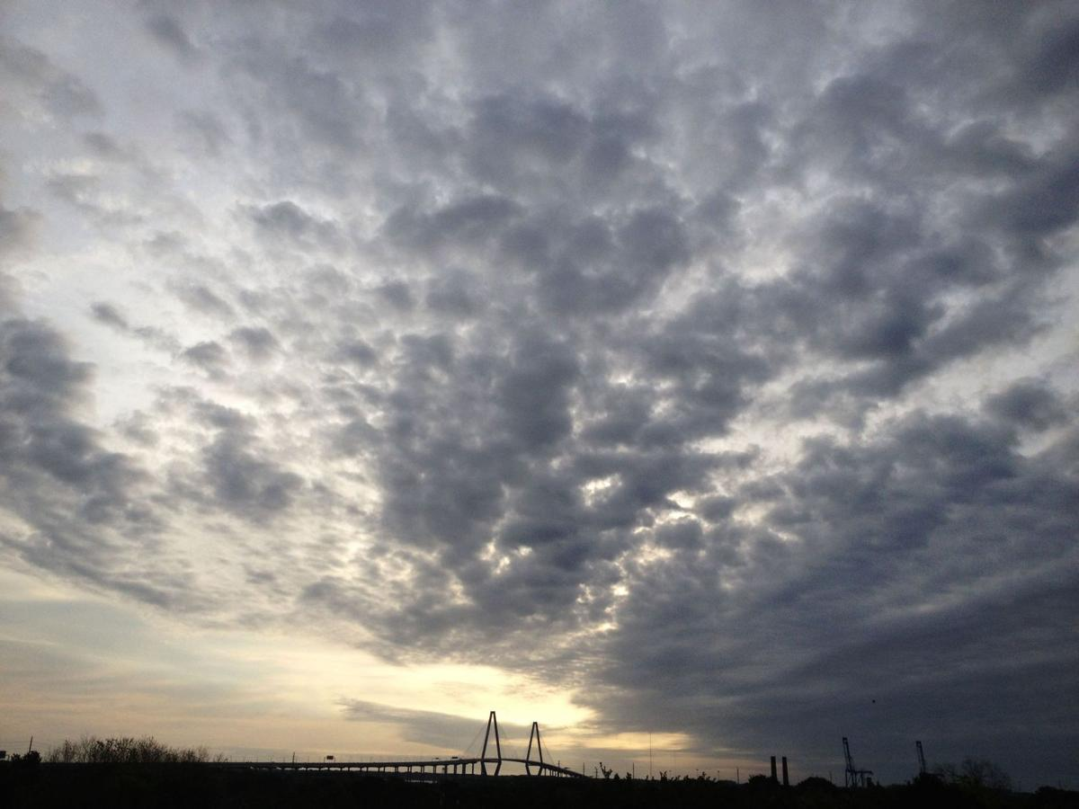 Daily chance of showers, storms and highs in 70s on tap for Charleston