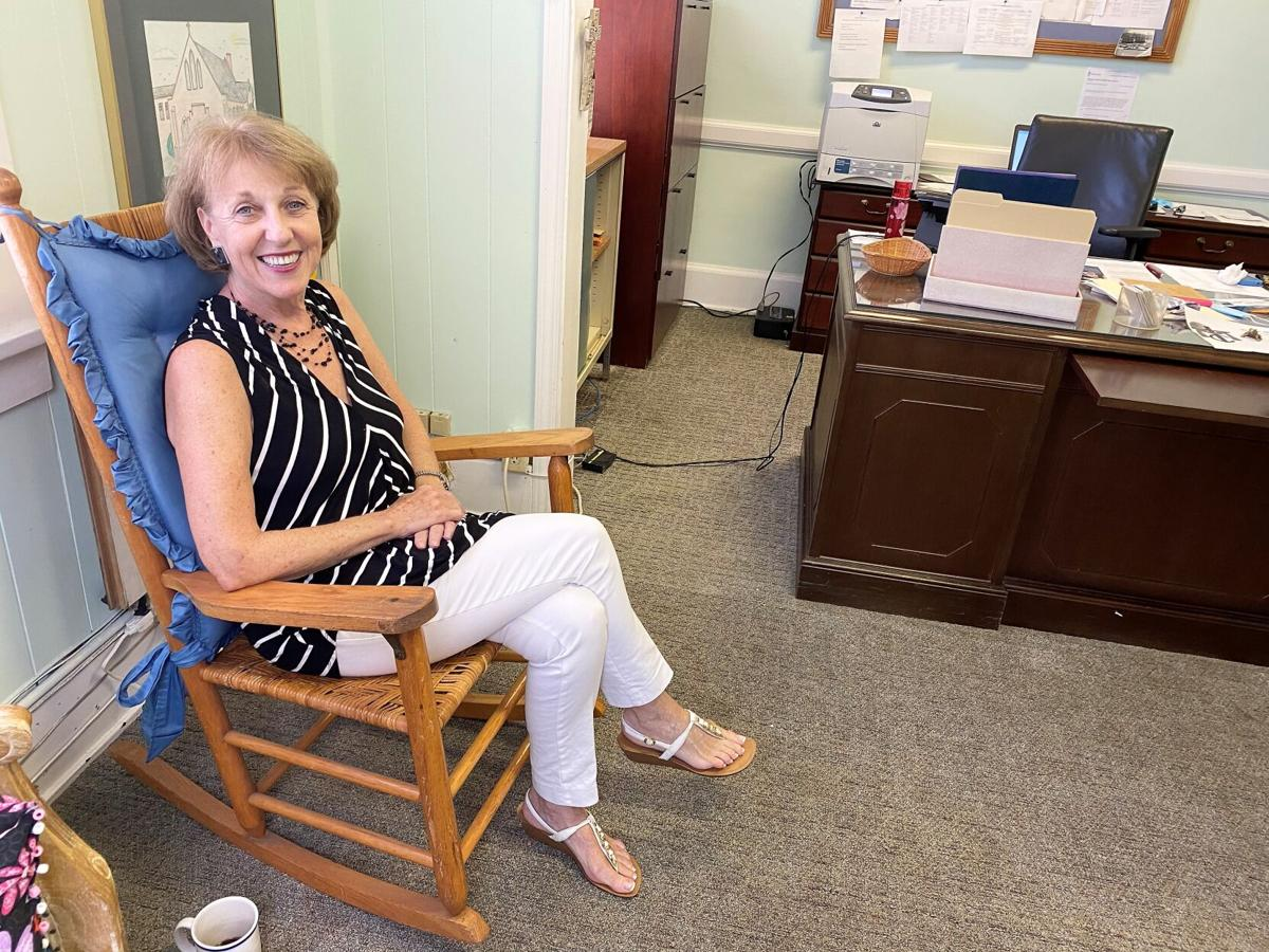 Deb Richardson-Moore in her office
