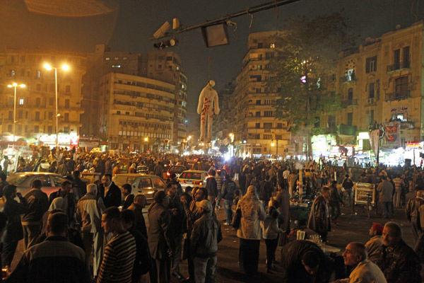 1 year post-Mubarak, Egypt lacks solidarity