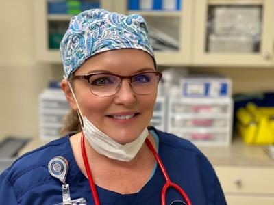 After a late career change, nurse now nationally certified