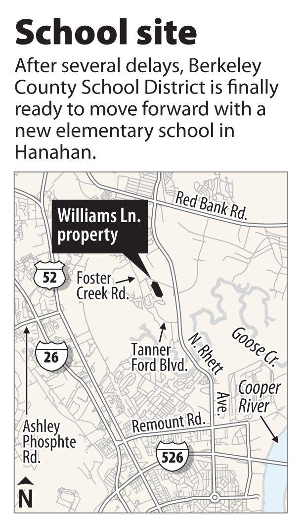 Berkeley County poised to buy Hanahan school site