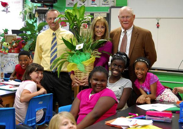 District 4 Teacher of the Year: Melanie Hughes