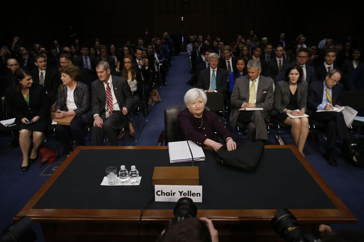 Fed's Yellen foresees continued low borrowing rates