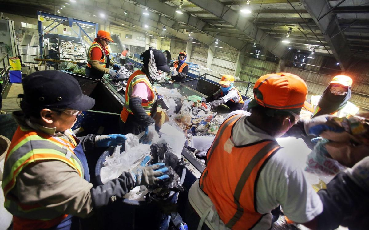 Plastic bags create work at recycling, sanitation centers