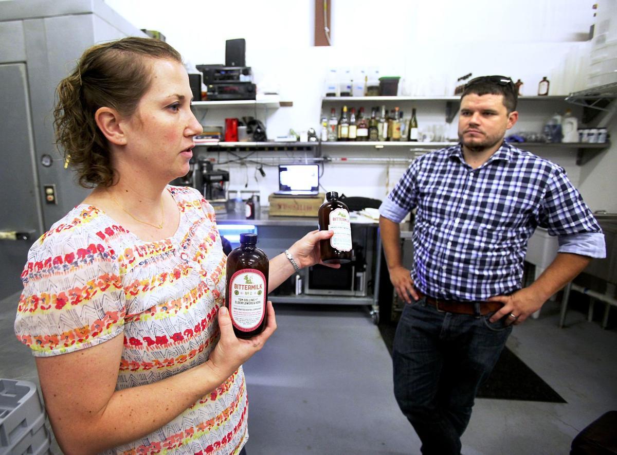 Bittermilk mixers Local couple launch 'just-add-spirit' cocktails