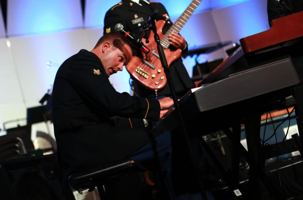 Serving Army through music