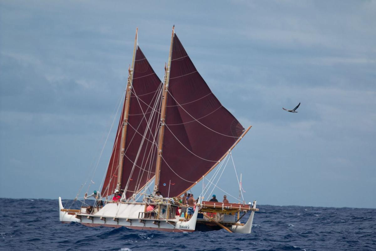 'Mālama,' to care, is message brought to Lowcountry by world voyaging canoe