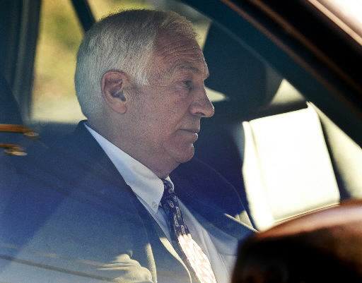 Sandusky says he only 'horsed around' with boys