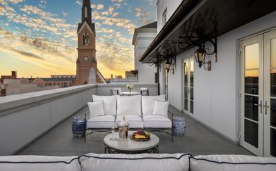 Hotel Bennett Owner's Suite, terrace (copy)