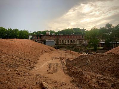 Old Mill Pond Dam