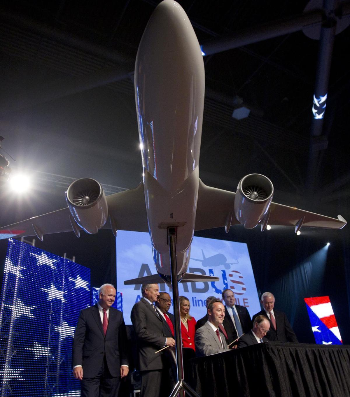Airbus landing in Alabama European giant plans first U.S. assembly plant