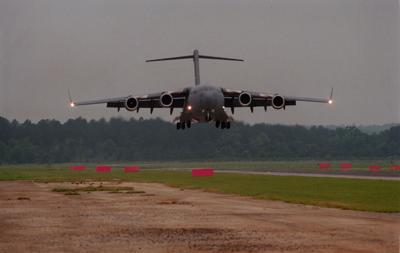 C 17 On Way To Delaware Made Emergency Landing At Charleston Air