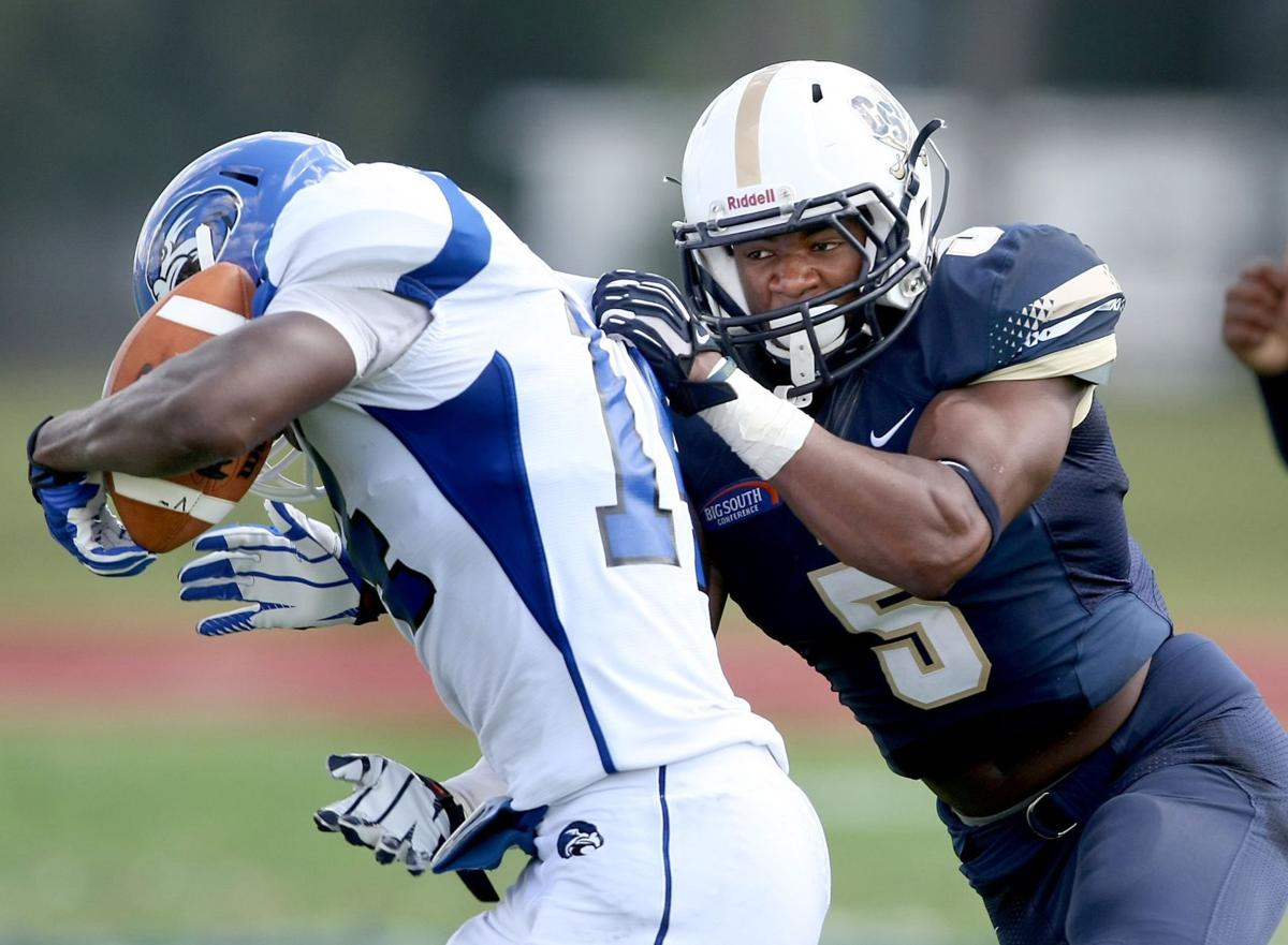 Charleston Southern's Demaris Freeman set for football under the lights