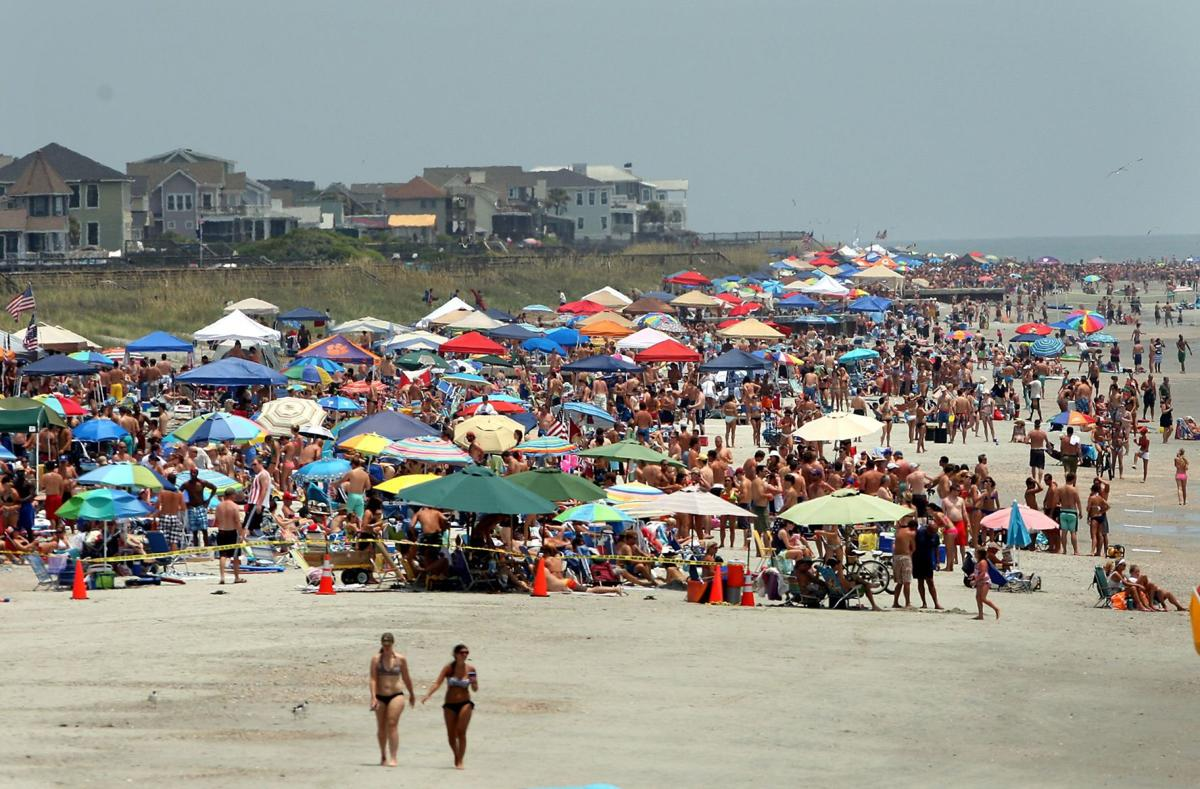 Noisy short-term visitors an issue on area beaches