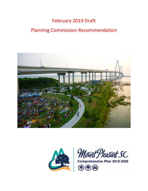 Mount Pleasant draft Comprehensive Plan