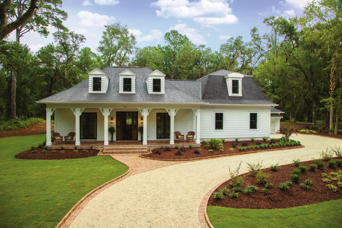 Southern living showcase home tours underway at litchfield for Southern living house