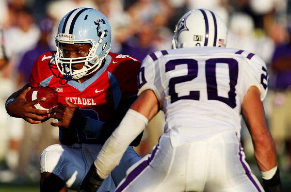 Citadel can't find end zone