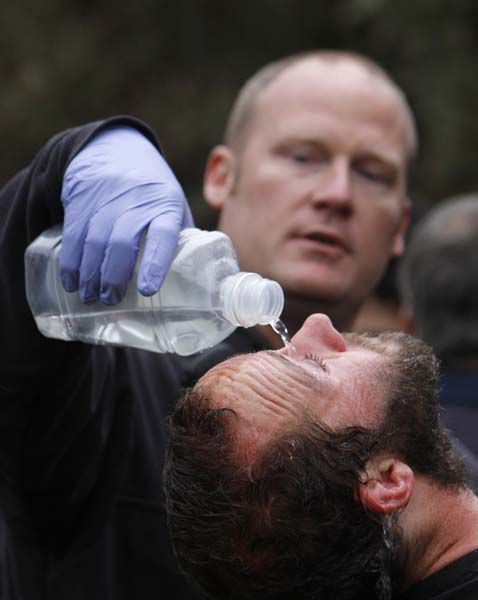 Officers in UC pepper spraying put on leave
