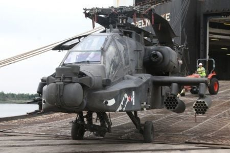 Weapons Station rebuilds copters en route from Afghanistan