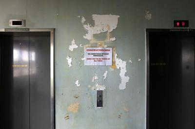 elevators sign Naval Hospital.jpg (copy) (copy)