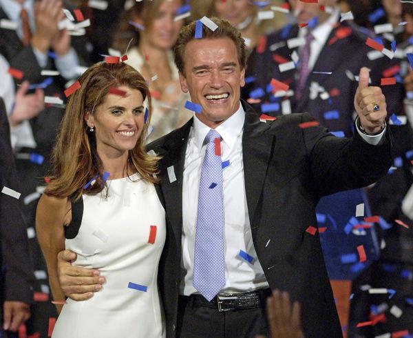 Schwarzenegger, Shriver announce separation