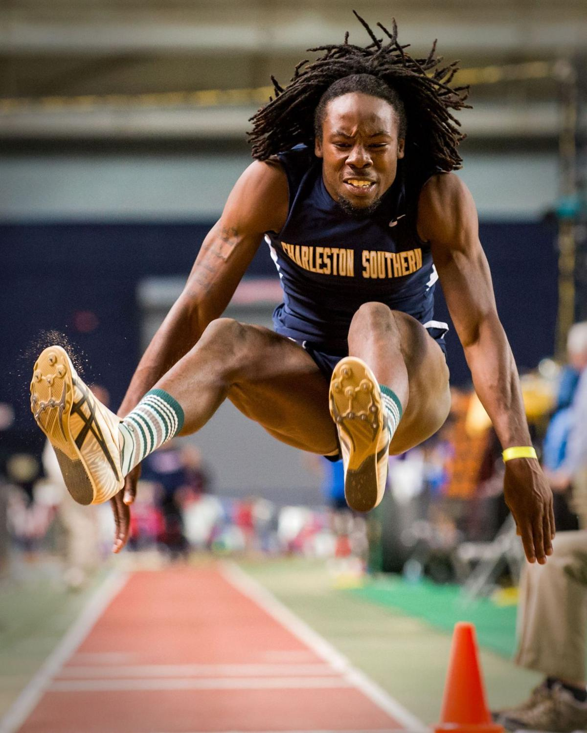 On the right track CSU long jumper Drummond glad he switched from football