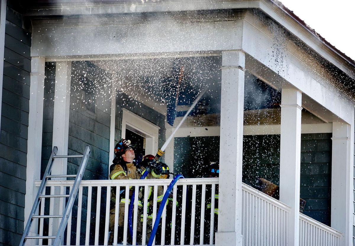 Fire damages Mt. P. home