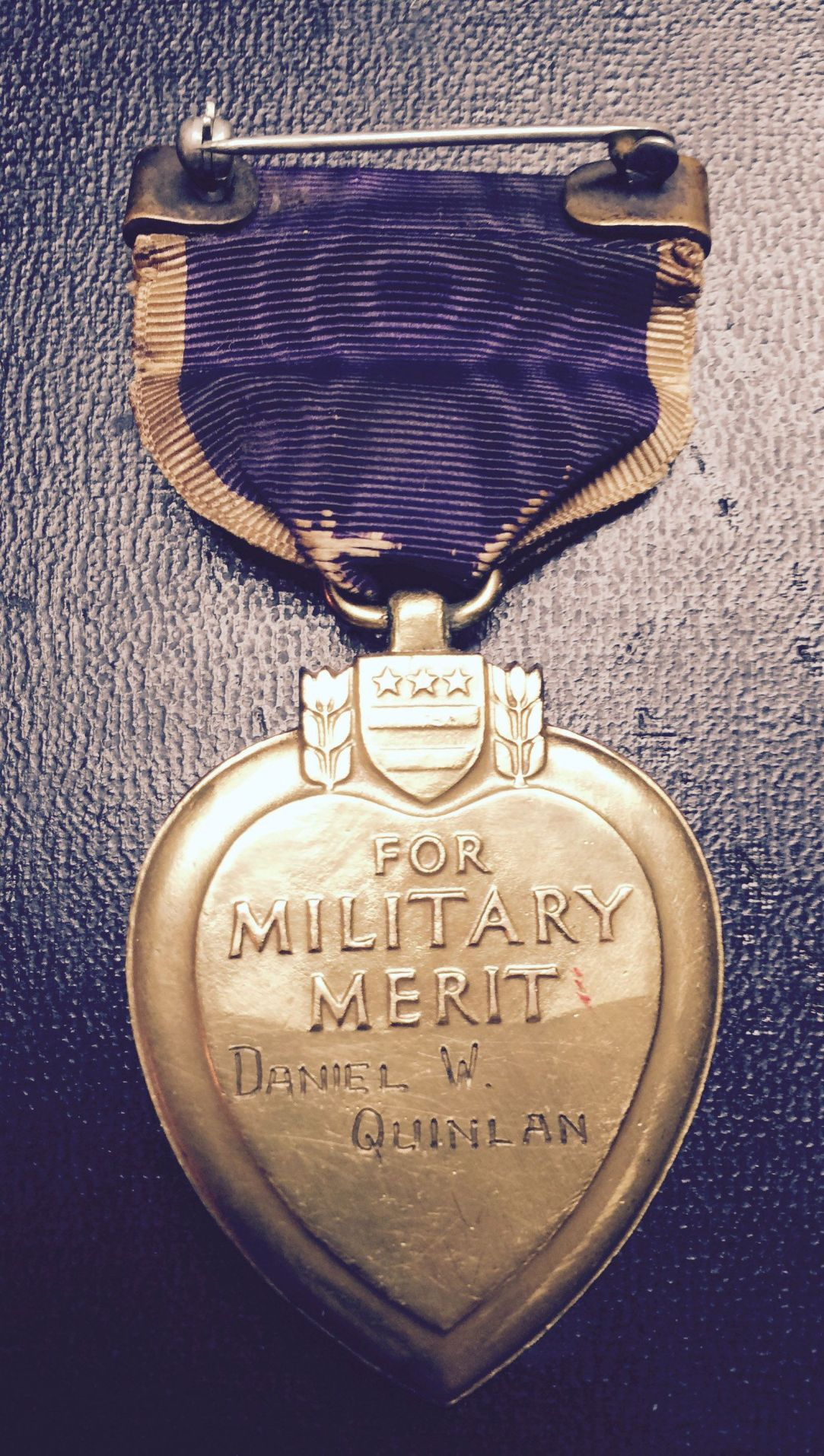 WWI hero's lost Purple Heart is being returned to grandson