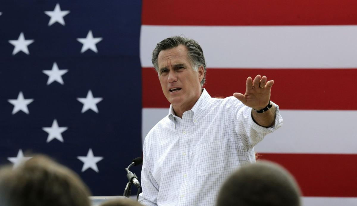Romney considering 3rd run for White House AP Photo NY120, MAEA104