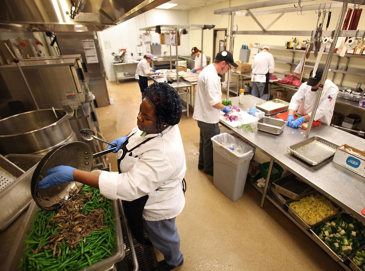 Chefon theaisle More grocery stores offer in-house pros to give advice, samples