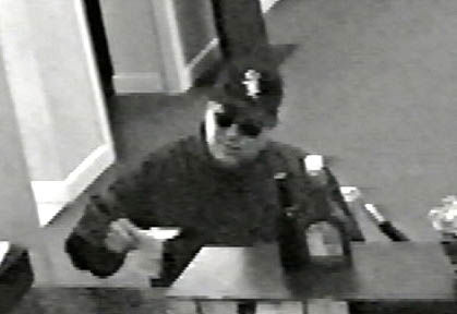 Area bank, restaurant robbed