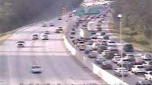 I-26 east traffic moving normally again after wrecks near Aviation