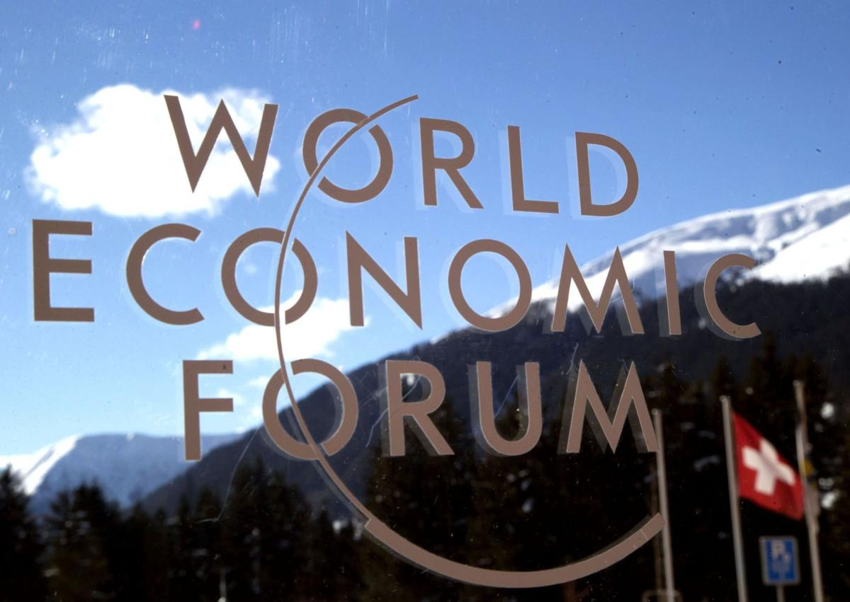 At Davos, push for clean energy as climate weapon