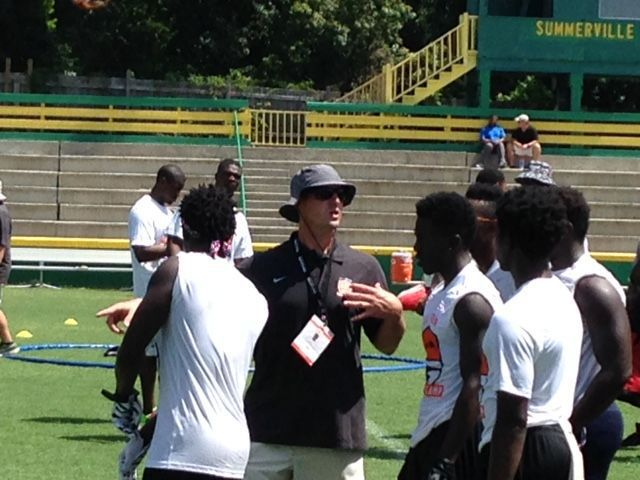 Call settling in as Summerville football coach