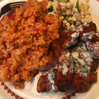 Celeste Albers' red rice