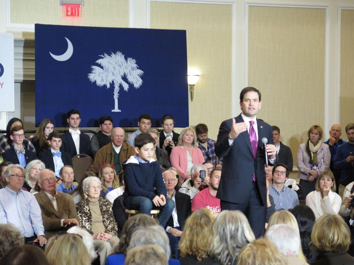 Rubio kicks off S.C. swing in Spartanburg